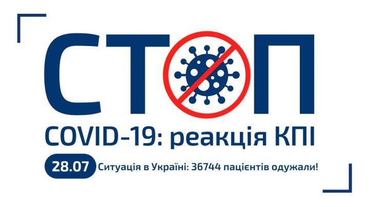 Карантин 2020 в КПІ (28.07.2020) [оновлено]